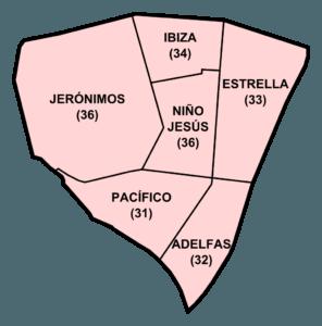 Barrios del distrito Retiro